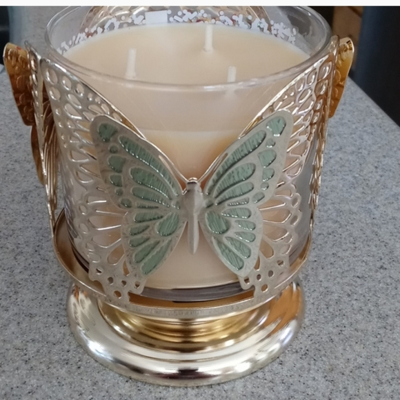 Bath & Body Works Butterfly Candle Holder